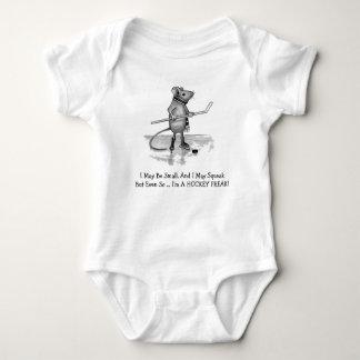 TODDLER HOCKEY FREAK: Mouse in Pencil Baby Bodysuit