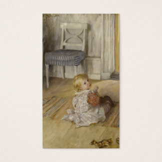 Toddler in a Pinafore Business Card