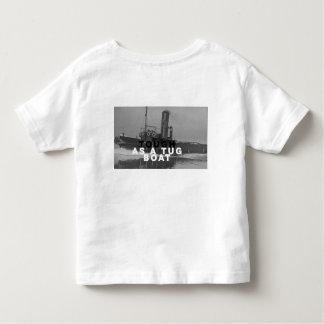 Toddler Jersey T-Shirt Tees Tough As A Tugboat