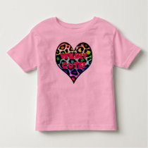 Toddler Jersey T-Shirt - Wildly Cute!