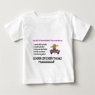 Toddler Leader of Everything Light Shirt Design