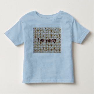 Toddler Matzo Tee for Passover, Blue