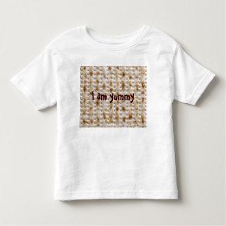 Toddler Matzo Tee for Passover, White