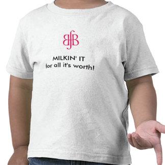 Toddler Milkin' It Breastfeeding T-shirt