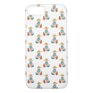 Toddler on Summer Beach Holiday Baby Girl iPhone 7 Case
