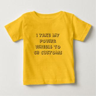 Toddler -  pOwEr wHeeLs shirt