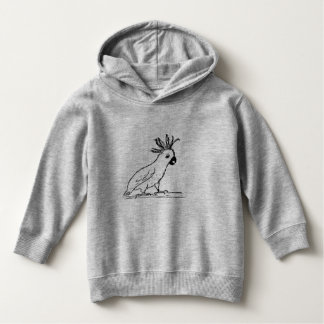TODDLER PULLOVER HOODIE - IRRITATED COCKATOO