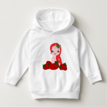 Toddler Pullover Hoodie with pony pattern