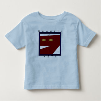Toddler Ringer T - Schweti Yeti Toddler T-shirt