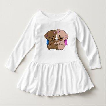 inaayastore Toddler Ruffle Dress Dress