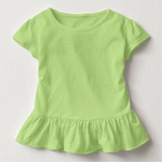 Toddler Ruffle Tee Key Lime Green