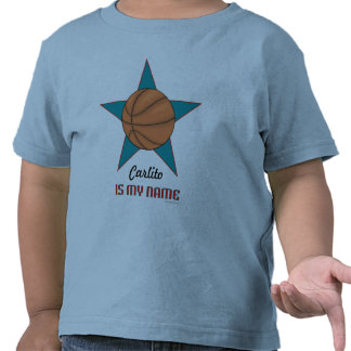 Toddler s Personalized Basketball T-shirt