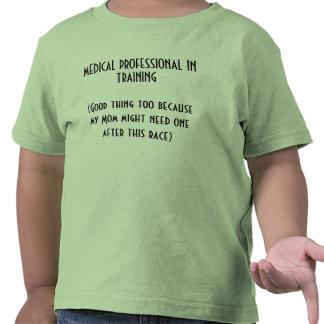 Toddler Shirt For a Mom Race Runner