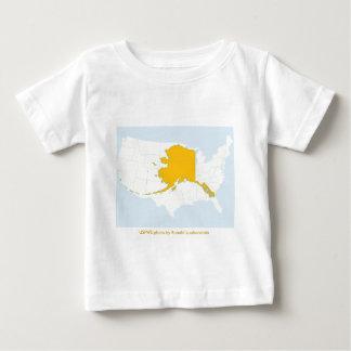 Toddler T / Alaska Map Baby T-Shirt