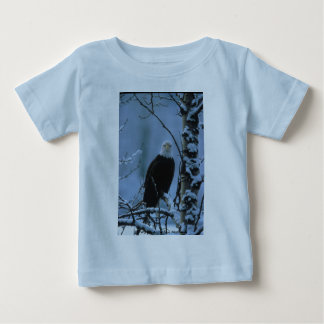 Toddler T / Bald Eagle in Winter Snow Baby T-Shirt