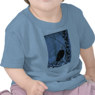 Toddler T / Bald Eagle in Winter Snow Tshirt