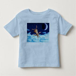Toddler T Bunny Night Flight Toddler T-shirt