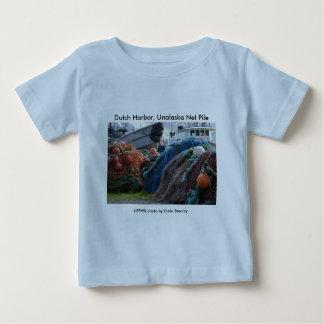 Toddler T / Dutch Harbor, Unalaska Net Pile Baby T-Shirt