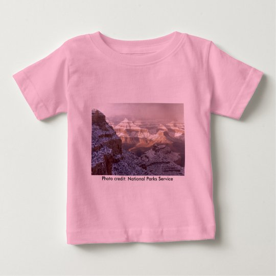 Toddler T / Grand Canyon Winter Baby T-Shirt
