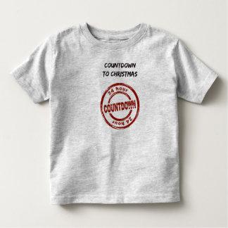 Toddler T-Shirt Countdown