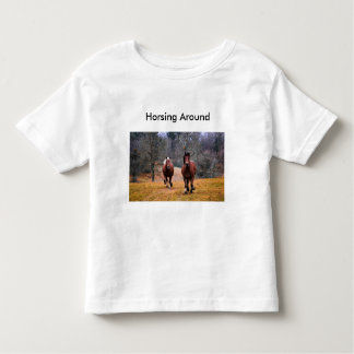 Toddler T-Shirt for horse lovers