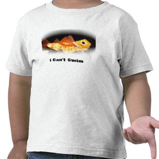 Toddler T-shirt I Can t Swim