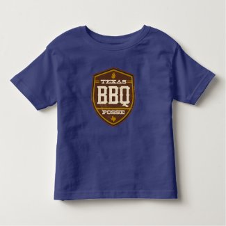 Toddler T-Shirt - Texas BBQ Posse Logo