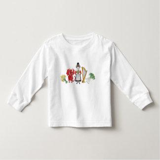 Toddler T-shirt: Welsh Daffodils Dragon Leeks Harp Tshirt