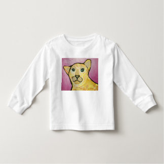 Toddler T-Shirt with Cool Lion Design