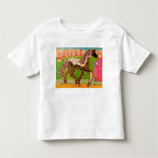 Toddler T-Shirt with Cute Horse Design