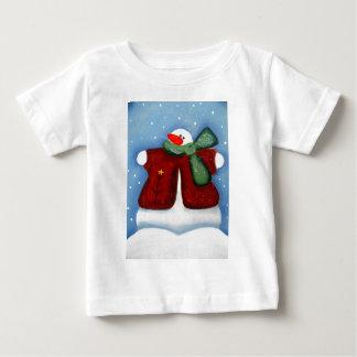 Toddler T shirts winter snowman