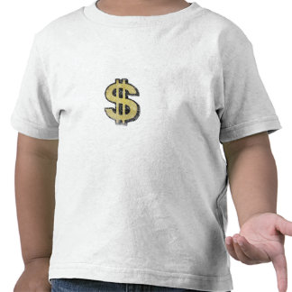 Toddler Tee with Big Yellow Dollar Sign