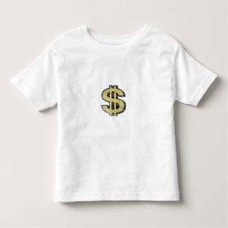 Toddler Tee with Big Yellow Dollar Sign