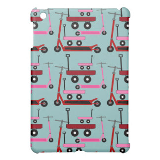 Toddler Transportation Red Pink Scooters Wagons Case For The iPad Mini