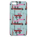Toddler Transportation Red Pink Scooters Wagons Cover For iPhone 5C