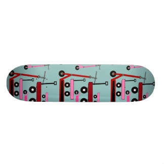 Toddler Transportation Red Pink Scooters Wagons Skateboard Deck