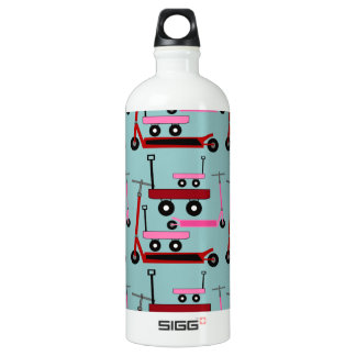 Toddler Transportation Red Pink Scooters Wagons Water Bottle