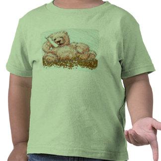 Toddler Tshirt Honeybear Teddy Bear Lime Cute