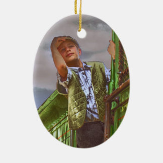 Toddler Tunes Oval Ornament