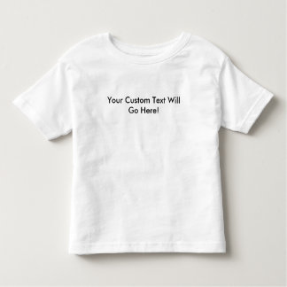 Toddler Twofer Shirt With Custom Text