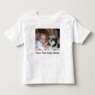 Toddler Twofer With Custom Image and Text Tee Shirts