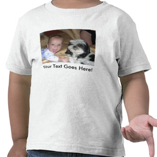 Toddler Twofer With Custom Image and Text T Shirt