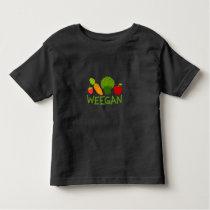 Toddler Weegan T-Shirt - Dark