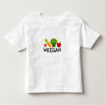 Toddler Weegan T-Shirt - Light