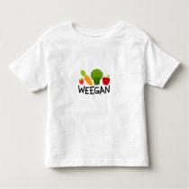 Toddler Weegan T-Shirt - Light