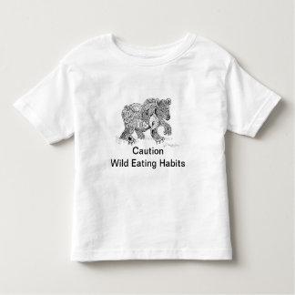 Toddler Wild Eating Habits T-shirt