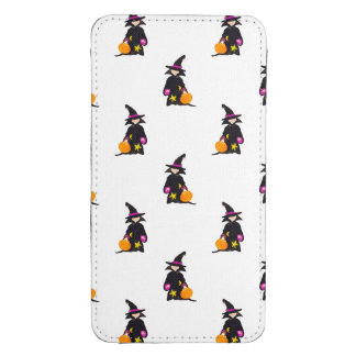 Toddler Witch Trick or Treat Repeat Pattern Galaxy S4 Pouch