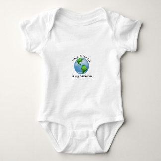 Toddler World is Classroom Light Shirt Design