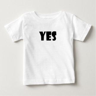 Toddler Yes Shirt Uni-Sex