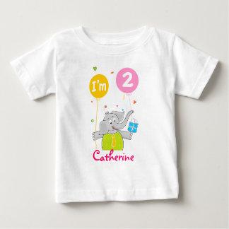 Toddler's 2nd Birthday Baby T-Shirt